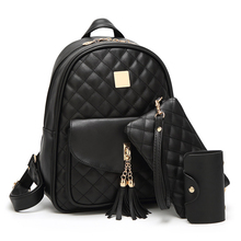 Backpack Women Leather Luxury Shoulder Bags For Woman 2019 Teenager Girls Casual New School