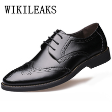 italian mens shoes brands oxford shoes for men zapatos hombre mens pointed toe dress shoes