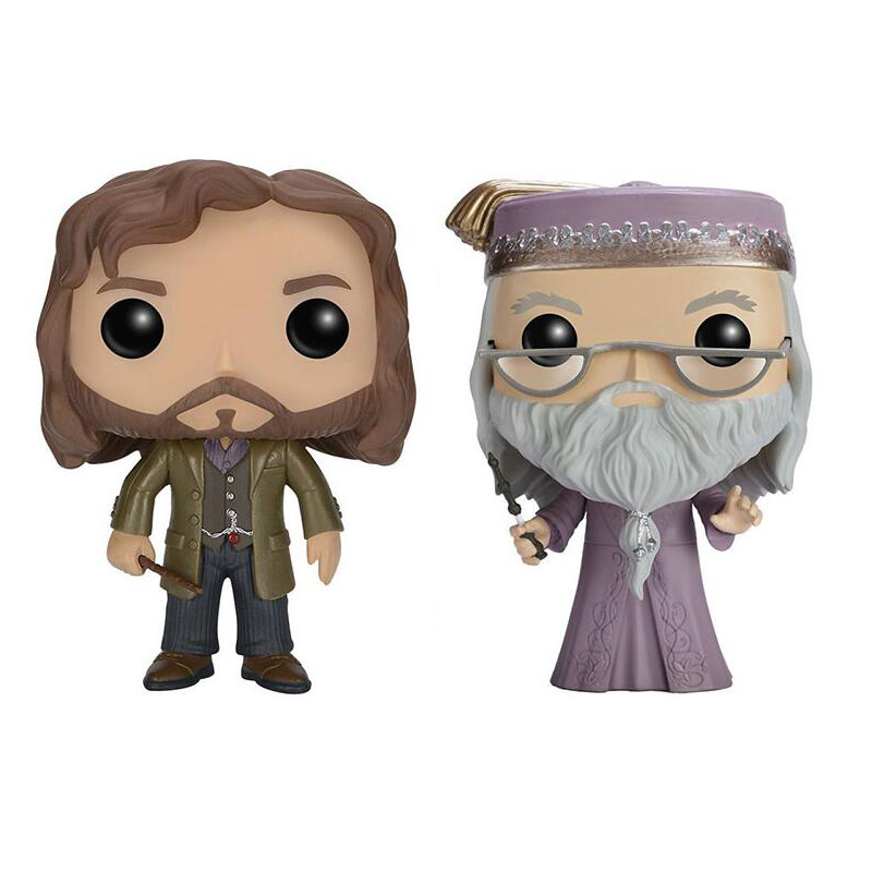 Harry Potter Character ALBUS DUMBLEDORE & SIRIUS BLACK 10cm Action Figure Collection  VINYL DOLL Toys harry potter ollivanders dumbledore the elder wand in box prop replica