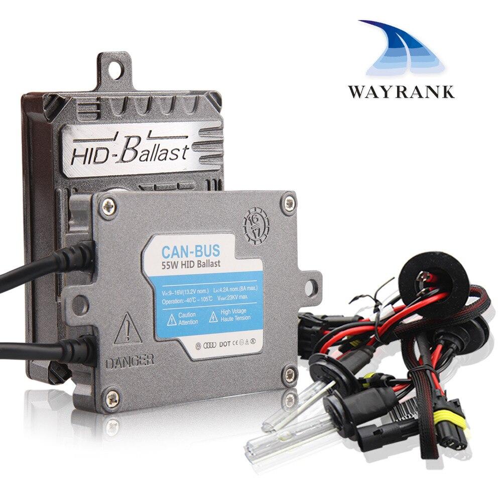 55W Kit Xenon HID Canbus Error Canceller H1 H3 H4 3 H7 H11 9005 9006 Car