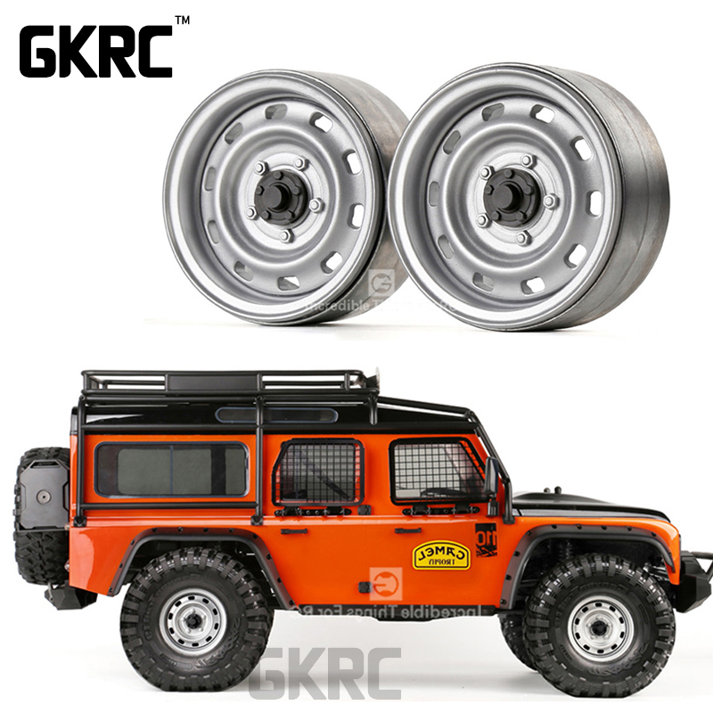 4pcs Metal 1.9inch Wheel Hub Beadlock Rim For 1/10 RC Crawler Car TRX4 Bronco RC4WD D90 D110 Axial SCX10 90046 JIMNY CFX VS4
