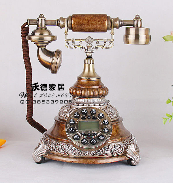 The new European antique antique retro retro telephone telephone landline telephone Fashion Technology corded phone ringing