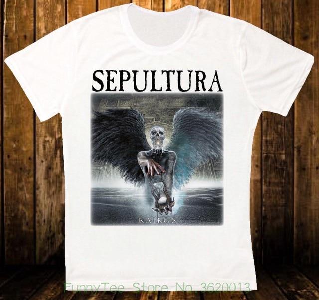 Women s Tee Sepultura Kairos Heavy Metal Apparel Retro Vintage Hipster  Unisex - T-shirt 1206 8ec1b48d1f