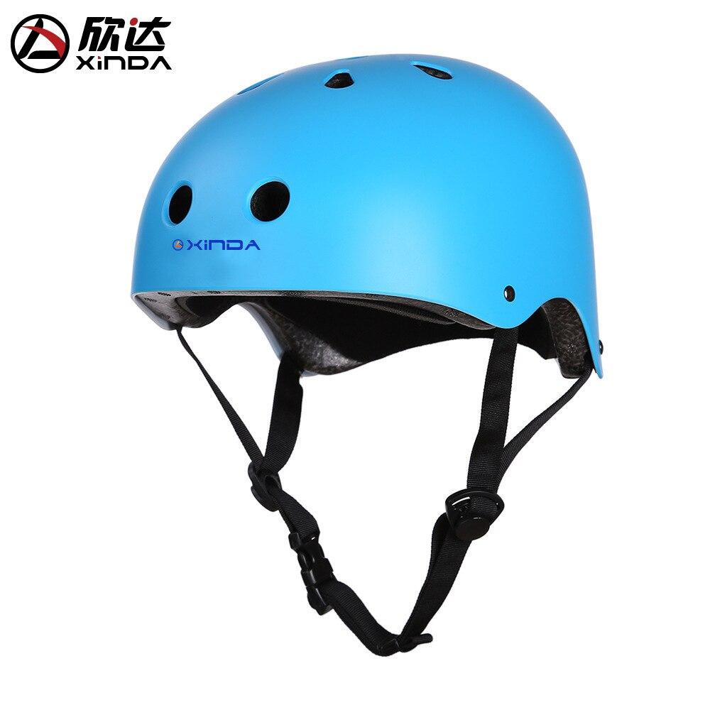 Xinda outdoorová lezecká helma lezení dolů záchranná - Sportovní oblečení a doplňky