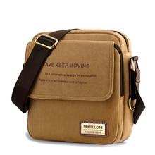 2016 New Men's Crossbody Bags Best Quality Canvas Messenger bags Men Leisure bag Hot Sale Men Designer Small Mini Bags