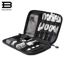 BAGSMART электронный Интимные аксессуары органайзеры для SD карты iPhone датер Кабели наушники USB цифровой travelcase организовать сумки