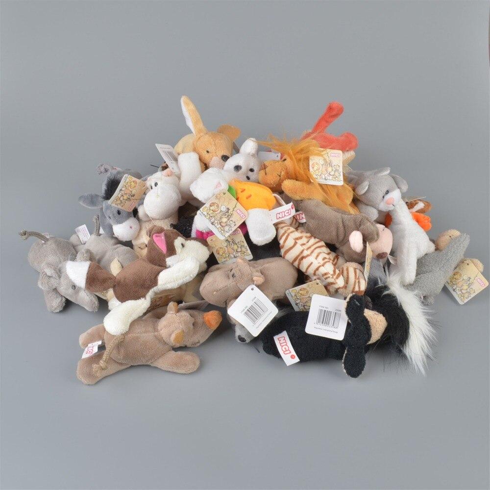 100 Stks Willekeurig Verzending Leuke Zachte Dieren Magneet Baby Kinderen Leren Speelgoed Party Gift Magneten Interieur Decoratieve
