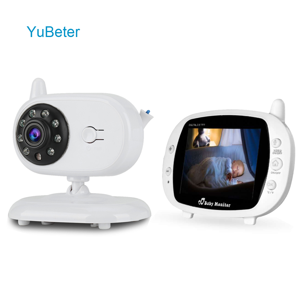 YuBeter Video Baby Monitor With Camera Wireless Wifi Baby Phone Camera CCTV Surveillance Home Security Night