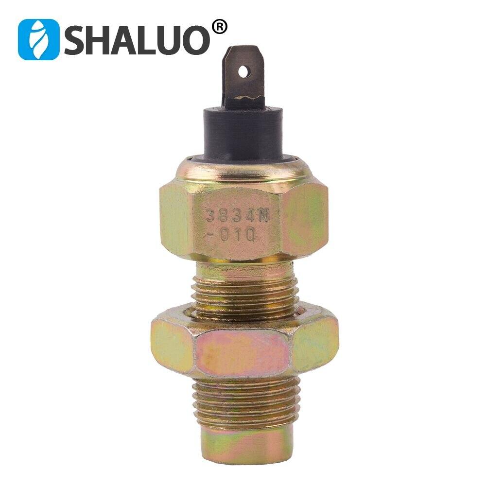 DCEC Diesel Engine Speed Sensor M18*1.5*34mm Brass Vdo Generator Sensor EQ153 Electronic Magnetic Alarm Switch Rpm Pickup Sensor