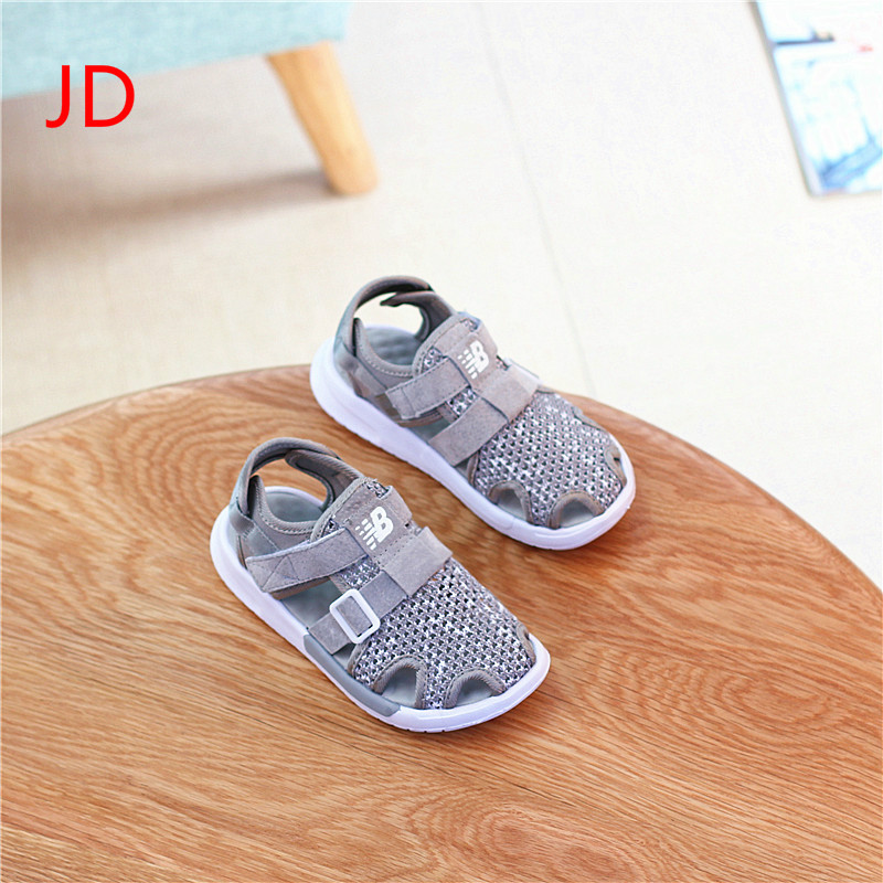 JD Children s Sandals In Baotou Summer Style Boys and Girls Sports Sandals Soft Soles Beach