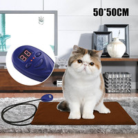 Electric Heating Pads Pet Cats Dogs Kitty Heated Mat Warming Blanket Mat Winter Warm Pad for Home Sofa Cover Cushion Carpet