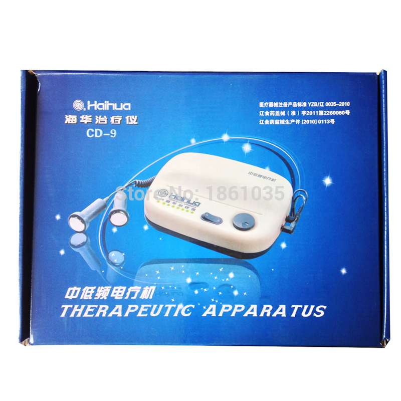 Hot sale!!! HaiHua brand CD-9 low and medium frequency therapy device Electrical Acupuncture Therapeutic apparatus body massage