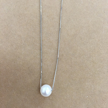 100% nature freshwater pearl pendant necklace ,925 silver chain-9-10 mm big perfect round pearl цены онлайн
