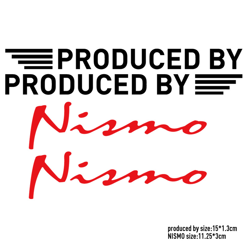 5 Pairs Customization NISMO On Car Rearview Mirror Sticker For NISSAN QASHQAI JUKE X-TRAIL TIIDA ALMERA NOTE PRIMERA MARCH TEANA