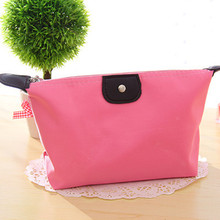 Portable Multifunction Cute Women Makeup Pouch Practical Women's Cosmetic Bag Korean Style Clutch Small Storage Bag
