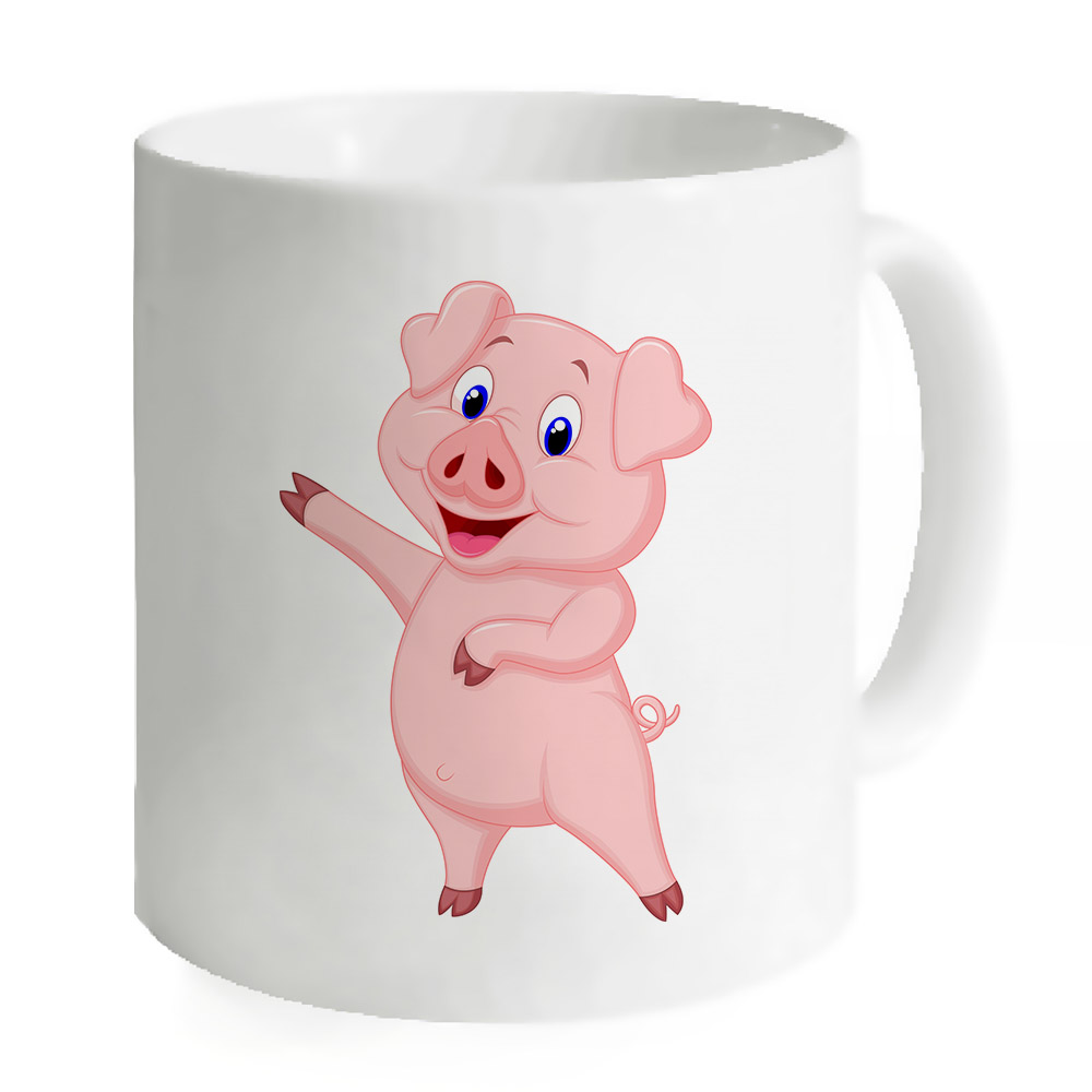 Pig Coffee Travel Mug