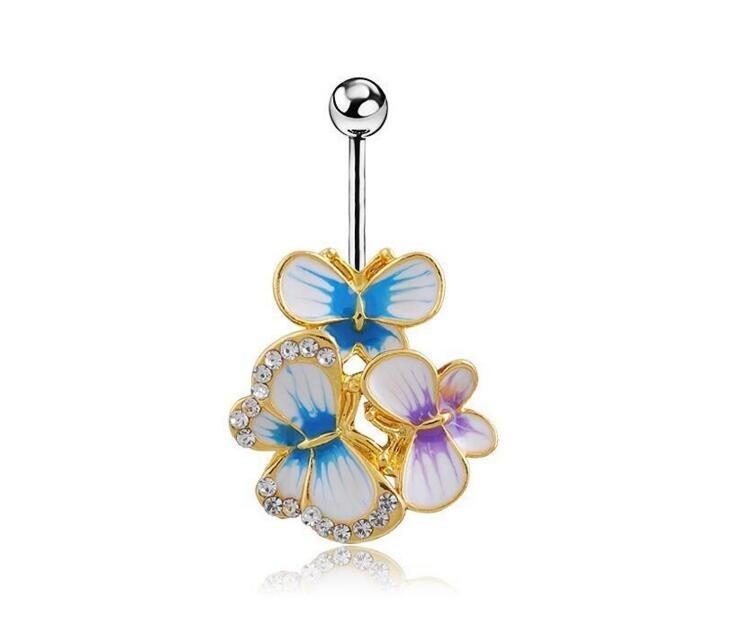HTB1i_SoOFXXXXcJaXXXq6xXFXXXt Exquisite Body Piercing Jewelry Party Navel Ring - 18 Styles