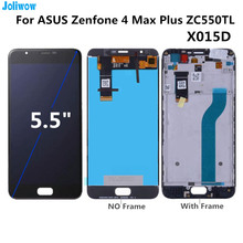 For ASUS Zenfone 4 Max Plus ZC550TL X015D LCD display+Touch screen Digitizer Assembly for phone  Asus ZC550TL LCD original for asus zc550tl lcd display touch screen digitizer assembl for asus zenfone 4 max plus zc550tl lcd frame x015d replace