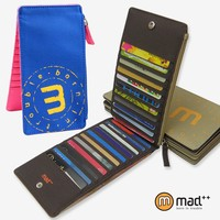 Super Thin 22 Slots Multiple Card Case Holder Pouch For Credit Cards Men Women Teens Wallet