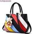 PÁJAROS de VUELO bolso de hombro de las mujeres del bolso de marcas de lujo bolsas de mensajero bolsas de asas de las señoras de alta calidad femenina bolsa LM4340fb