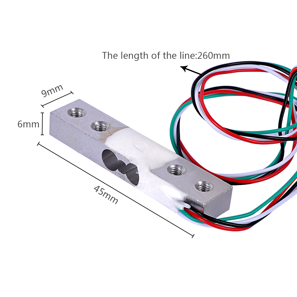 1000kg Electronic Platform Scale Aluminium Alloy Weighing Sensor Load Cell
