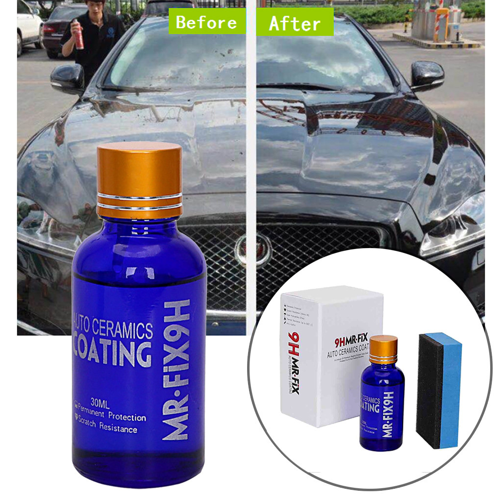 Franchise 2PCS Fix It Pro Nano 9H Car Oxidation Liquid Ceramic Coat Super Hydrophobic Glass Coating Scrach Remover Quita Rayones-in Paint Protective Foil from Automobiles & Motorcycles