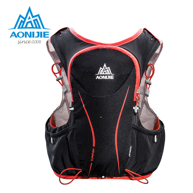 AONIJIE E906 Men Women Running Backpack Outdoor Sports Trail Racing Hiking Marathon Fitness Hydration Vest Pack 1.5L Bag цена