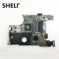 SHELI FOR DELL 07NMC8 laptop motherboard inspiron 14 N4050 main board 7NMC8 HM67 w/ HD 6470M 1GB DDR3