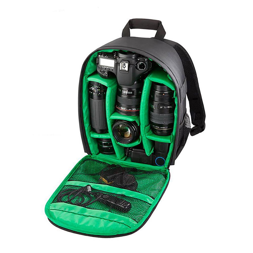 Multifunctional Waterproof DSLR Camera Backpack Photography Shoulder Bag Case for Canon Nikon
