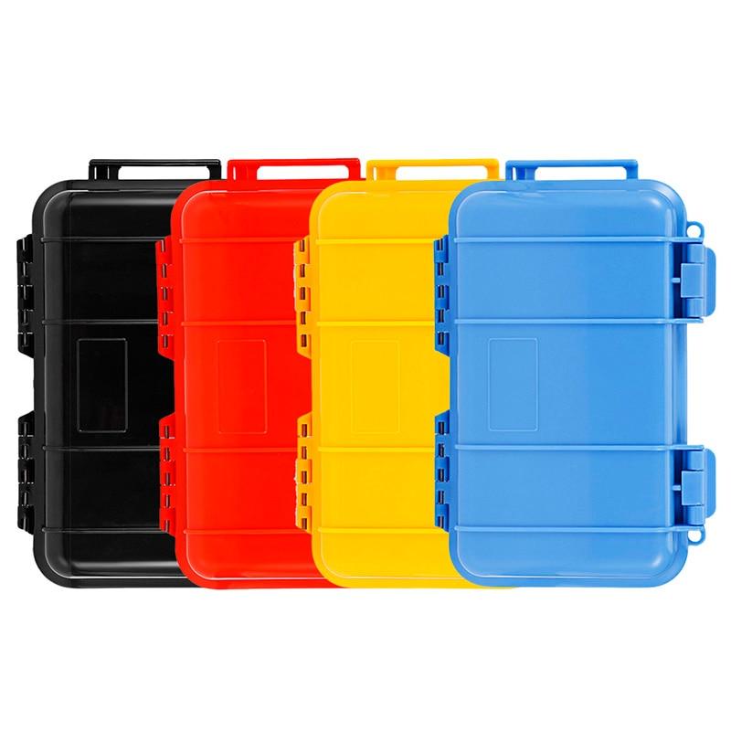 Grande Ao Ar Livre À Prova D' Água À Prova de Choque Caso de Telefone Portátil Proteja Container caixa de Armazenamento Carry EDC Sobrevivência ferramenta de sobrevivência campo