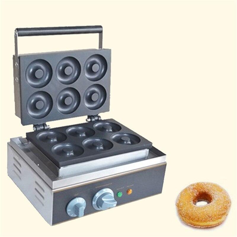 BEIJAMEI Кухня техника коммерческих машины, чтобы сделать пончики Электрический mini Пончик делая машину домой пончик чайник цена