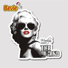 Bevle 2718 Marilyn Monroe Waterproof Fashion Cool DIY Notebook Stickers Laptop font b Luggage b font