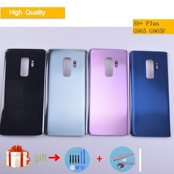 For Samsung Galaxy S9+ S9 Plus G965 G965F SM-G965F Housing Battery Cover Back Cover Case Rear Door Chassis S9Plus Housing Shell смартфон samsung galaxy s9 sm g965f 64gb бургунди