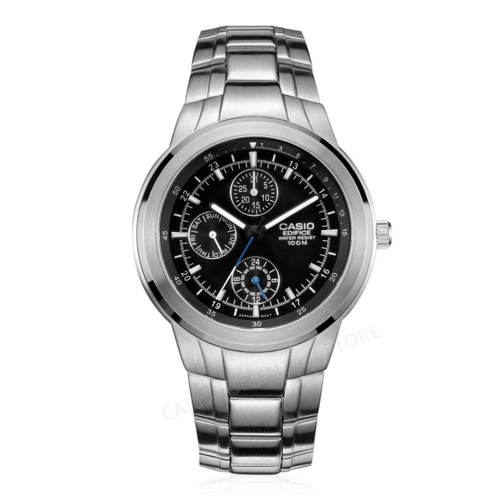 Часы CASIO Edifice часы 2017 кварцевые часы Для мужчин известный бренд Роскошные EF-305D-1A наручные часы бизнес мужской Relogio Masculino подарок