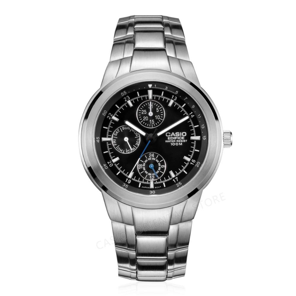 CASIO Edifice WATCH 2017 Quartz Watch Men Famous Top Brand Luxury EF-305D-1A Wrist Watch business Male Relogio Masculino gift casio edifice ef 503sg 7a