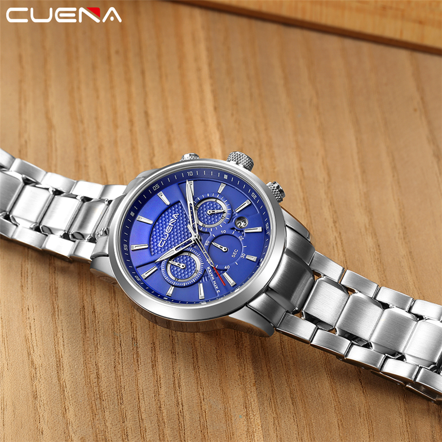 Waterproof Mens Watches Top Brand Luxury Watch Men Sport Quartz Watch High Quality Stainless Steel Man Fashion Wristwatch NEW  fashion luxury mens analog sport steel case quartz leather wrist watch 3447 brand new high quality luxury free shipping