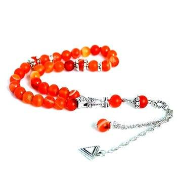 Bracelet Cornaline Argent