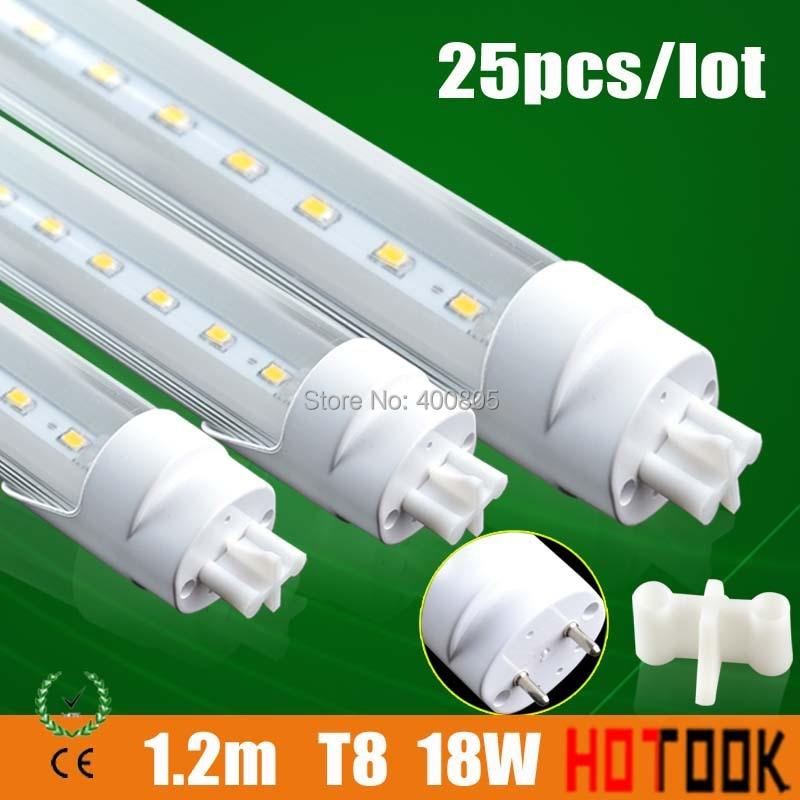 T8 LED Tube Light Bar 1200mm 1500mm 600mm 900mm 9W 14W 18W 22W LED Lamp fluorescent tubo bulb 3ft 4ft 5ft 6ft lampadas 25pcs/lot free shipping dimmable t8 led tube bulb 4ft 20w 1200mm g13 base replace fluorescent lamp light