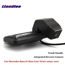 Liandlee For Mercedes Benz E Class C207 W207 2009~2017 Car Reverse Camera Rear View Parking / Integrated Trunk Handle