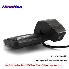 цена на Liandlee For Mercedes Benz E Class MB W212 2010~2015 Car Reverse Camera Rear View Parking Camera / Integrated Trunk Handle