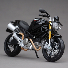 DMH 696 Black 1:12 scale models Maisto Alloy motorcycle racing model Toys Gift Toy
