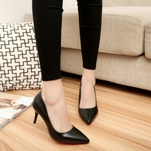 New Red Bottom High Heels Pointed toe Women Pumps Patent Leather Career Ladies Shoes Women's Pumps Chaussure Femme Zapatos Mujer