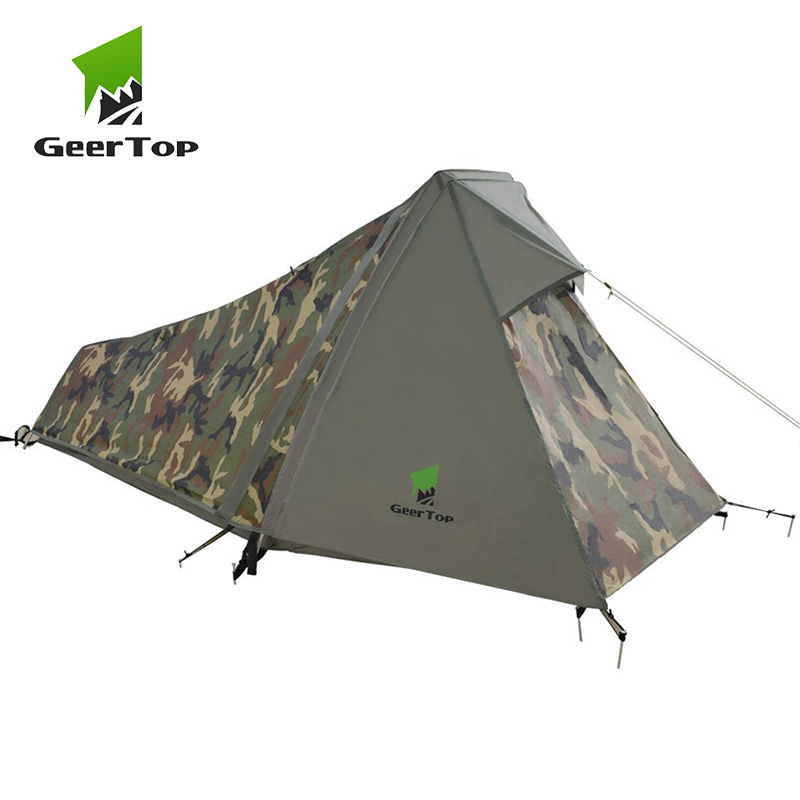 GeerTop One Person 3 to 4 Season Lightweight Backpacking ...