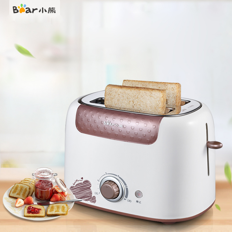 Bear DSL-6921 Toaster Home Toaster Breakfast Machine Automatic Baking 6 File Temperature Control Anti-card Protection Dust Cover bear dsl 6921 тостер