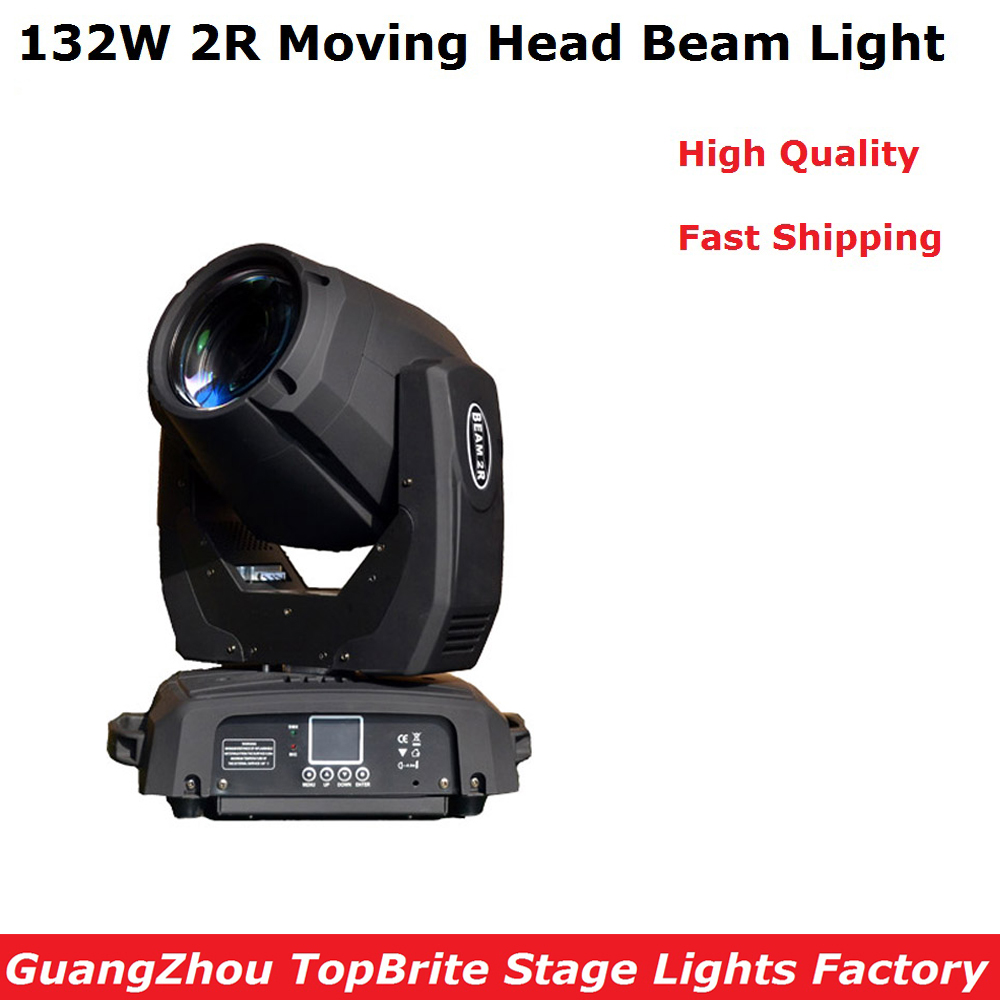 2019 New Arrival 1Pcs 132W Moving Head Stage Light Sharpy 2R 132W High Power Beam Light