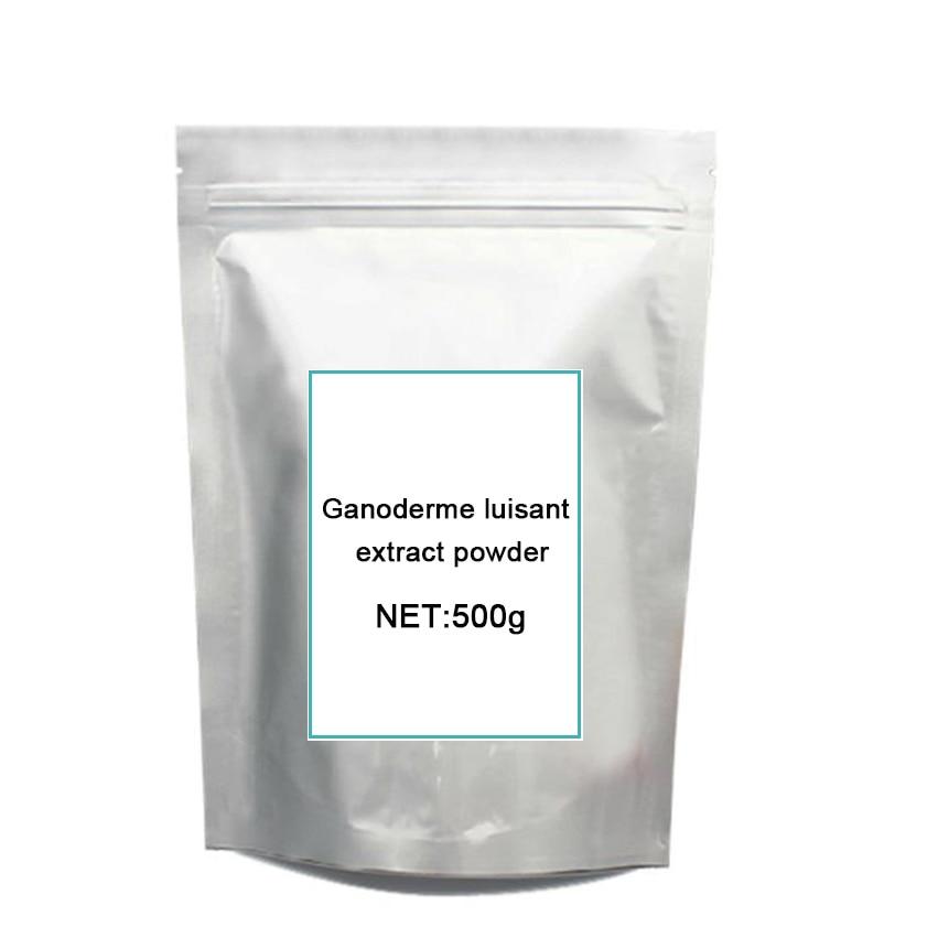 цена на 500g Ganoderma lucidum Extract Po-wder/Reishi Mushroom Extract Polysaccharide &Triterpene 10:1