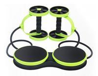 Multipurpose power roller Twisted disk Roller abdomen ab slimmer AB Coaster ab roller fitness equipment