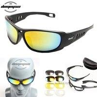 Óculos de proteção do exército óculos de sol masculino militar d a i s y. C6 c5 óculos masculino 4 lente kit para o jogo de guerra masculino óculos táticos ao ar livre