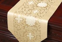 Damask table cloth Chinese rural wealth auspicious porcelain bed   Tang style classical  runner tarpaulin fabric runner цена в Москве и Питере