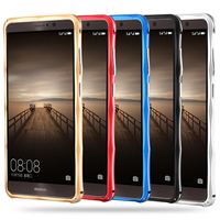 For Huawei Mate 9 Case High Quality Ultra Thin Slim Aluminum Metal Stand Bumper Case For